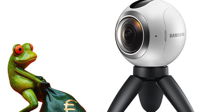 Frisk Samsung Gear 360 im Blitzangebot - 360° Kamera Club CQ-18