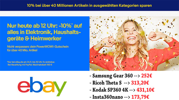 Ebay 10% PowerPOW Aktion