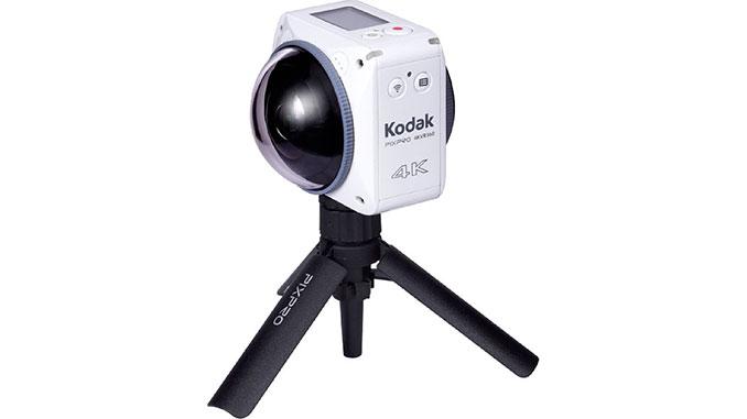 kodak 4KVR360 auf Tripod