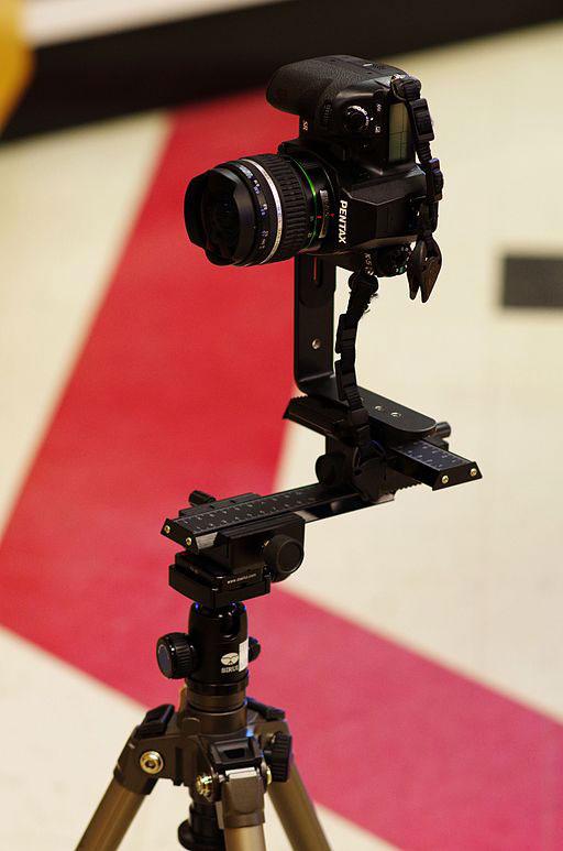 Spiegelreflexkamera nodalpunktadapter